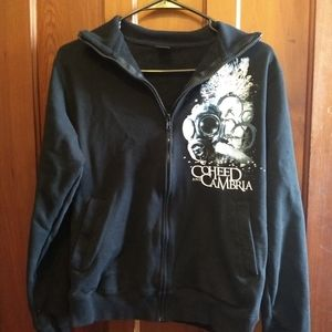 Coheed and Cambria Sweaters - COHEED AND CAMBRIA JACKET SHIRT - Zip Up Sweater